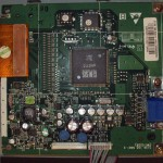 Main Video Controller Board for the Dell Monitor